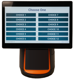 Medical Check In using Ticket based customer kiosk
